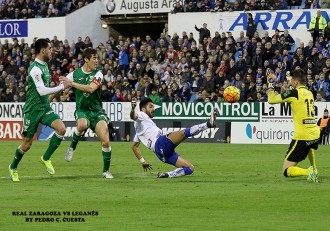Ángel Real Zaragoza vs Leganés