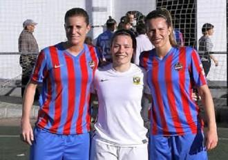 Futbol femenino, Andrea Martin; Nelly y Andrea Esteban