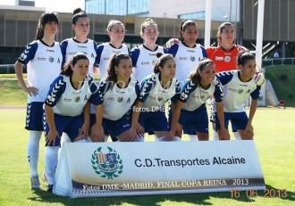 Futbol femenino Alcaine finalista
