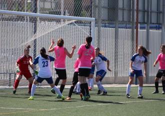 Futbol femenino Alcaine Peña ferranca
