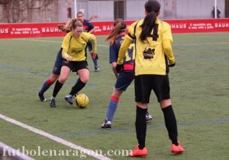 Futbol femenino Oliver Aragonesa