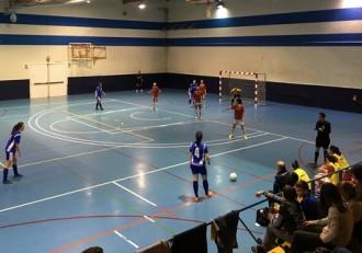 Futbol femenino Sala Zaragoza Ordizia