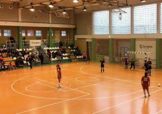 Futbol femenino Sala Zaragoza Stilo Kirol