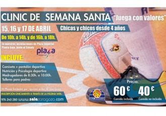 Futbol Femenino Sala Zaragoza clinic