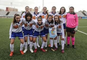 Futbol Femenino Seleccion Aragonesa Sub-15