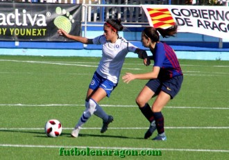 Futbol Femenino Zaragoza - barcelona