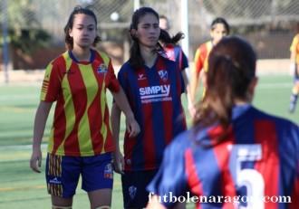 Futbol femenino Zaragoza A Huesca