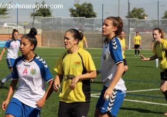 Futbol femenino Zaragoza Alcaine