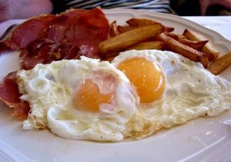 Huevos fritos