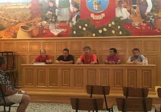 Directiva del F.C. Jacetano