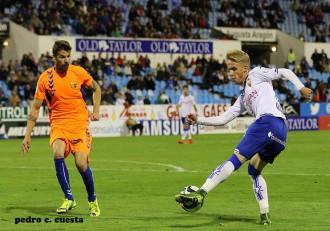 Sergio Gil Real Zaragoza Vs. Llagostera
