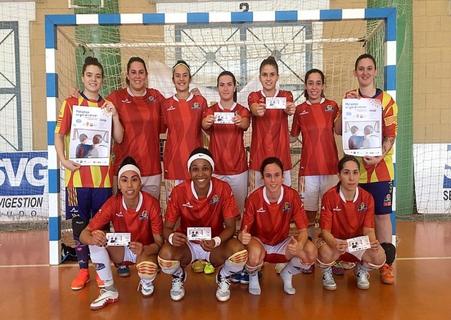 Futbol femenino Sala Zaragoza