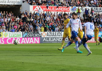 Momento del gol de Willian José